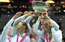 CH Séc bảo vệ thành công ngôi vô địch Fed Cup