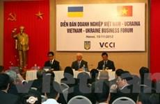 Thúc đẩy hợp tác thương mại, đầu tư VN-Ukraine
