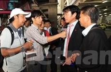 Việt Nam đặt chân tới Thái Lan chinh phục AFF Cup