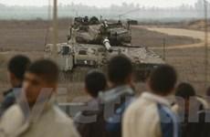 Nga điều tàu chiến tới Dải Gaza để sơ tán công dân