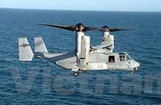 MV-22 Osprey tập trận