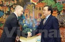 Phó Thủ tướng Hoàng Trung Hải tiếp Bộ trưởng Séc
