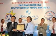 Ra mắt Nhà tài trợ các giải bóng đá Quốc gia 2013
