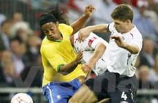 Lịch thi đấu bóng đá quốc tế: Đại chiến Anh - Brazil