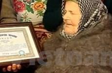Cụ bà cao tuổi nhất thế giới hiện sống tại Ukraine
