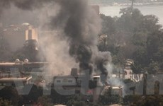 Các CĐV quá khích phóng hỏa trụ sở LĐBĐ Ai Cập