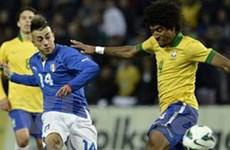 Brazil và Italy bất phân thắng bại sau trận cầu mở