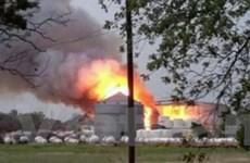 Cận cảnh vụ nổ khiến 70 người chết tại bang Texas