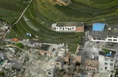 100 người thiệt mạng trong vụ động đất ở Trung Quốc