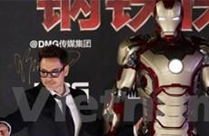 Iron Man quảng cáo sữa?