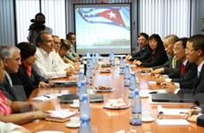 Việt Nam và Cuba hợp tác trong lĩnh vực tài chính
