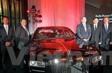 Thương hiệu xe Rolls Royce có mặt ở Philippines