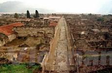 Trùng tu thành cổ Pompeii