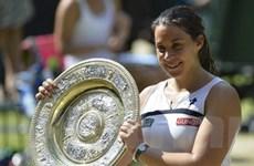 Marion Bartoli lần đầu tiên bước lên đỉnh Wimbledon