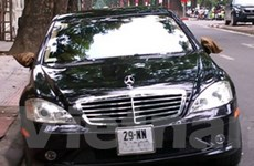 317 xe ôtô mang biển số không đúng với quy định