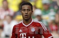 Thiago góp công lớn giúp Bayern hủy diệt Hamburg