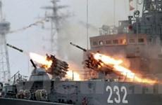 Hình ảnh ấn tượng ở lễ kỷ niệm Ngày Hải quân Nga