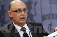 Tây Ban Nha hướng mục tiêu giảm thâm hụt ngân sách