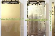 Hé lộ hình ảnh của iPhone 5S màu vàng sang trọng