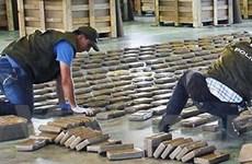 Lực lượng hải quân Colombia thu 1,4 tấn cocaine