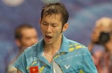 Tiến Minh nhọc nhằn vào tứ kết giải Nhật Bản mở rộng