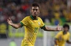 """Tin vắn: Neymar """"nổ súng,"""" Brazil đánh bại Hàn Quốc"""