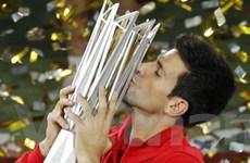 Djokovic lần thứ 2 lên ngôi tại Shanghai Masters