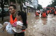 Mưa, lũ lớn gây thiệt hại nặng nề tại Trung Quốc