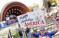 Người dân Mỹ lại tưng bừng kỷ niệm Ngày Độc lập