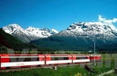 Người Thụy Sĩ đứng đầu thế giới về sử dụng tàu hỏa