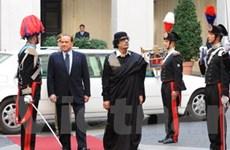 Libya muốn tăng cường quan hệ kinh tế với Italy