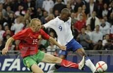 Vòng sơ loại Euro 2012: Anh thắng, Pháp thua đau