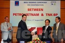 Việt Nam và Nga ký hợp đồng cung cấp dầu thô