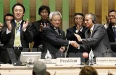Hội nghị COP10 thông qua Nghị định thư Nagoya