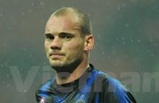 """Sneijder bị """"sốc"""" với chấn thương của chính mình"""