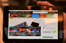 Samsung bán được 1 triệu máy tính bảng Galaxy Tab