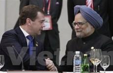 Nga-Ấn Độ tăng cường quan hệ đối tác chiến lược