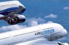 Airbus vượt qua đối thủ Boeing về số đơn đặt hàng
