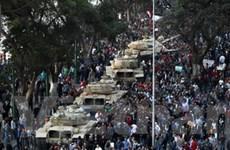 Người biểu tình phát động tổng bãi công ở Ai Cập