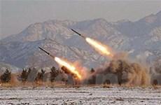 Hàn Quốc triển khai nhiều tên lửa gần Triều Tiên
