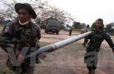 Giao tranh ở biên giới Thái-Campuchia tiếp diễn