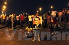 Đụng độ ở Cairo làm hàng chục người bị thương