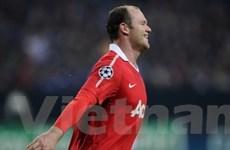 """Rooney sướng """"phát điên"""" khi Barca đánh bại Real"""