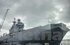 Nga và Pháp ký hợp đồng mua bán tàu Mistral