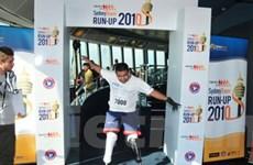 200 VĐV thi chạy bộ ở tòa nhà cao nhất TP.HCM