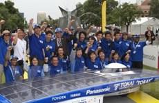 Nhật Bản vô địch giải đua xe năng lượng mặt trời