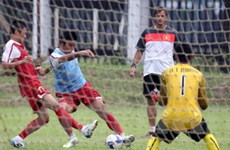 U23 Việt Nam đổ mồ hôi dưới cái nóng Indonesia