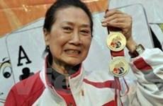 Cụ bà 76 tuổi giành 2 huy chương tại SEA Games