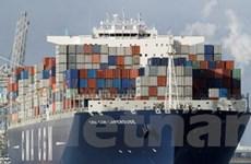 Tàu container tải trọng lớn cập cảng quốc tế Cái Mép