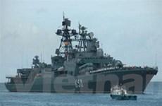 Tàu chiến Nga khởi hành đến cảng Tartus của Syria